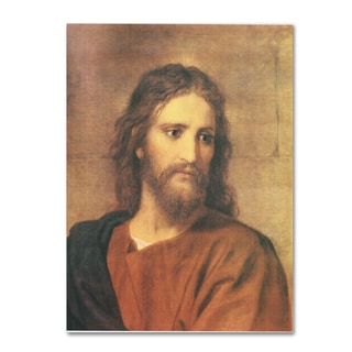 Heinrich Hofmann 'Christ at Thirty-Three' Canvas Art