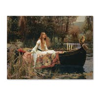 John William Waterhouse 'The Lady of Shallot' Canvas Art