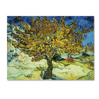Vincent van Gogh 'The Mulberry Tree' Canvas Art