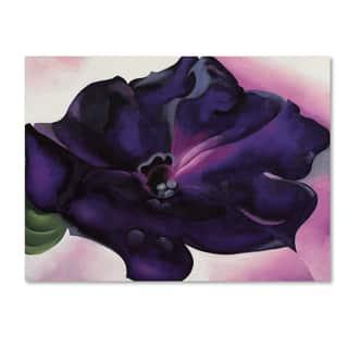 Georgia O'Keefe 'Petunia' Canvas Art