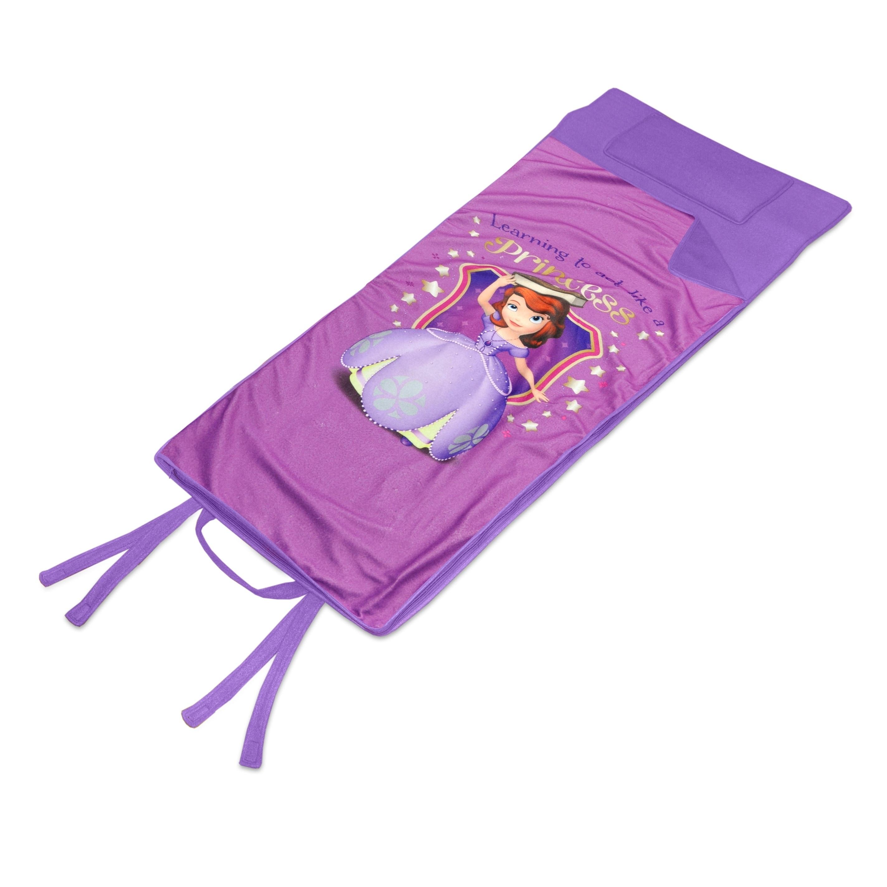 Disney Sofia the First Memory Foam Nap Mat, Purple (Polye...