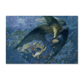 Edward Robert Hughes 'Night Train of Stars' Canvas Art