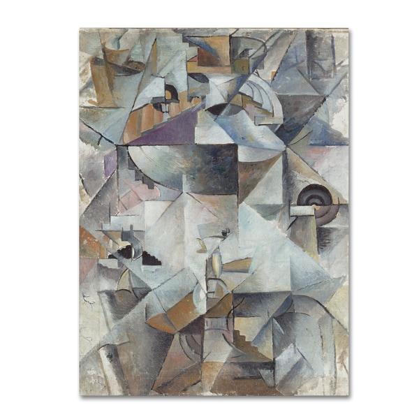Kazimir Malevich 'Samovar' Canvas Art