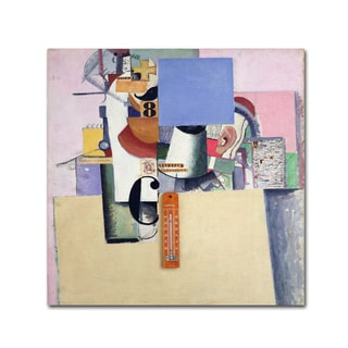 Kazimir Malevich 'Reservist of the First Division ' Canvas Art