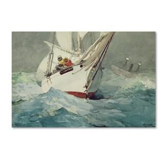 Winslow Homer 'Diamond Shoal' Canvas Art