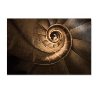 Moises Levy 'Infinito Gaudi' Canvas Art