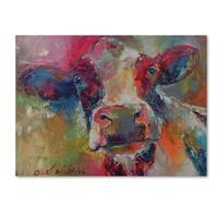 Richard Wallich 'Art Cow 4592' Canvas Art