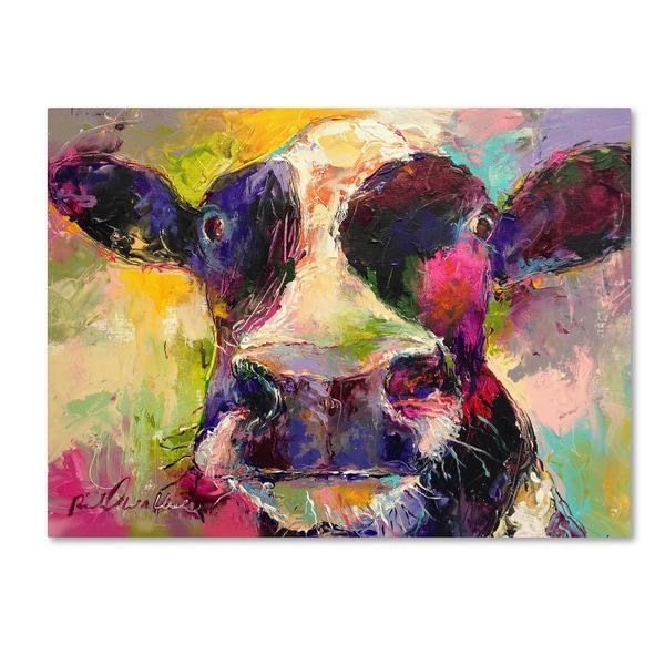 Richard Wallich 'Art Cow 4584' Canvas Art
