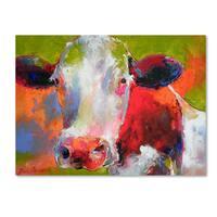 Richard Wallich 'Art Cow' Canvas Art