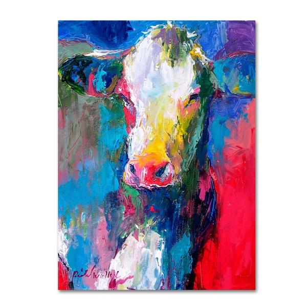 Shop Richard Wallich Art Cow 2 Canvas Art On Sale