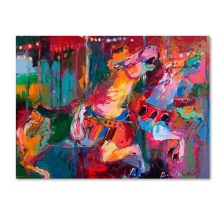 Richard Wallich 'Artcar 4' Canvas Art