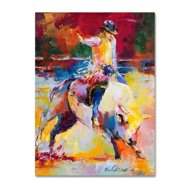 Shop Richard Wallich  Rodeo  Canvas Art - Free Shipping Today ... 315b961151ec