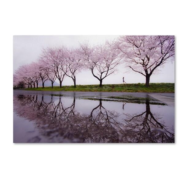 Kouji Tomihisa 'Rain Of Spring' Canvas Art
