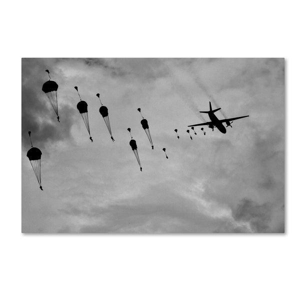 Marcel Rebro 'Go Go Go ' Canvas Art