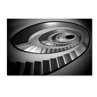 Stefano Rapino 'Stairs' Canvas Art