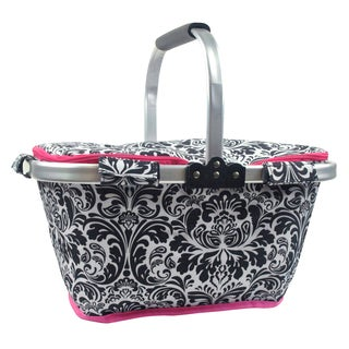 Damask Insulated Market Tote