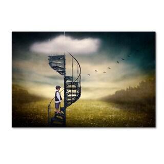 Ben Goossens 'Stairway To Heaven' Canvas Art