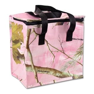 Realtree Pink Camo Cooler Bag