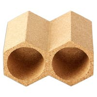 Honeycomb Cork Wine Rack