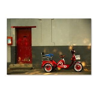 Jacek Stefan 'Scooter' Canvas Art