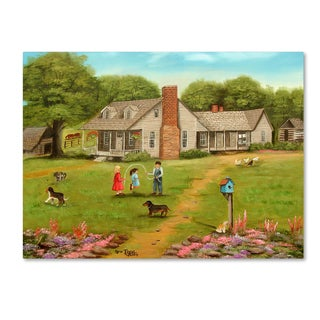 Arie Reinhardt Taylor 'Grandpas House' Canvas Art