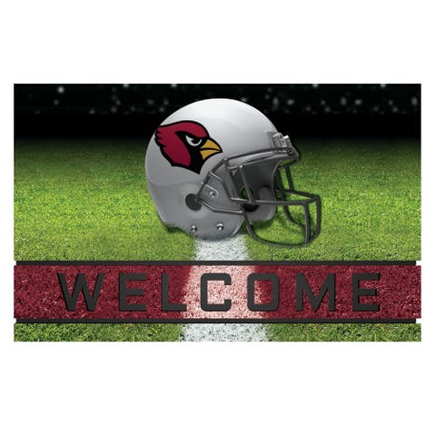 "NFL - Arizona Cardinals 18""x30"" Rubber Door Mat"