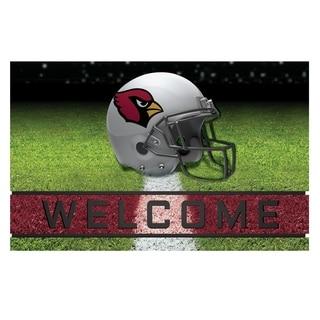 "NFL - Arizona Cardinals 18""x30"" Rubber Door Mat"