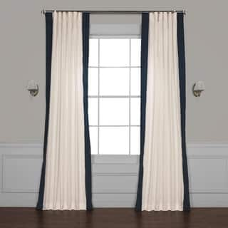 Exclusive Fabrics Vertical Colorblock Panama Curtain|https://ak1.ostkcdn.com/images/products/16959675/P23246481.jpg?impolicy=medium