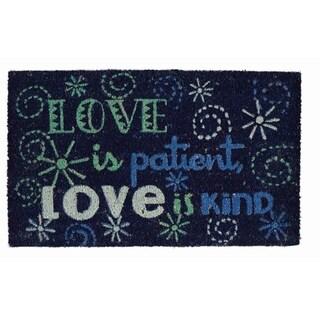 Love is Patient Doormat