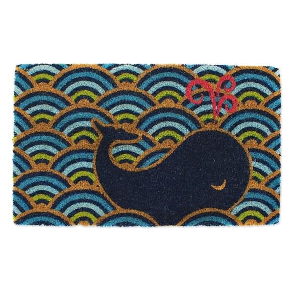 Vinyl Whale Doormat