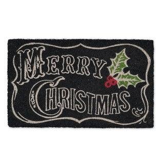 Merry Christmas Chalkboard Doormat