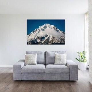 Noir Gallery View of Mount Hood in Oregon Photo Print on Metal.