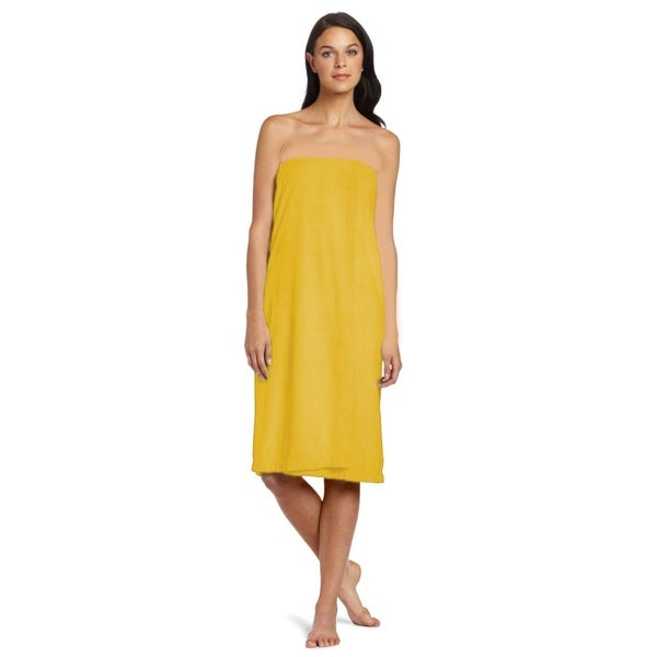 Yellow Women's Shower Wrap