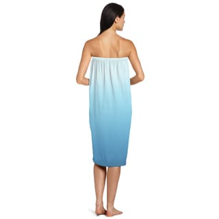 Blue Ombre Shower Wrap