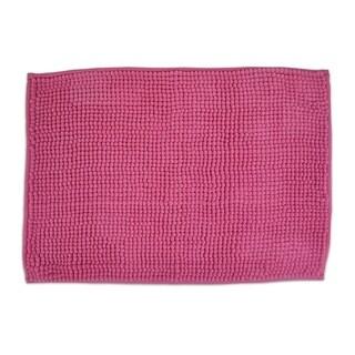 17x24-inch Neon Pink Popcorn Bath Rug