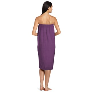 Eggplant Shower Wrap