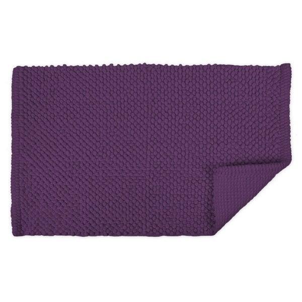 21x34-inch Purple Popcorn Bath Rug