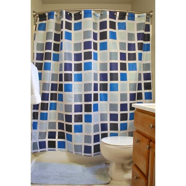 Shop 16-Piece Shower Curtain and Bath Accessory Set - On Sale - Free ...
