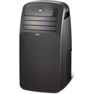 LG LP1217GSR 12,000 BTU Portable Air Conditioner with Remote (Refurbished) - Black