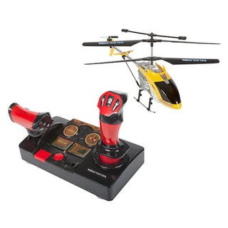 Hercules Helipilot 3.5CH 2.4GHz Electric RC Helicopter - Red