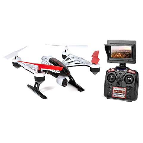 Mini Orion 2.4GHz 4.5CH LCD Live-View Camera RC Drone - Glow in the Dark