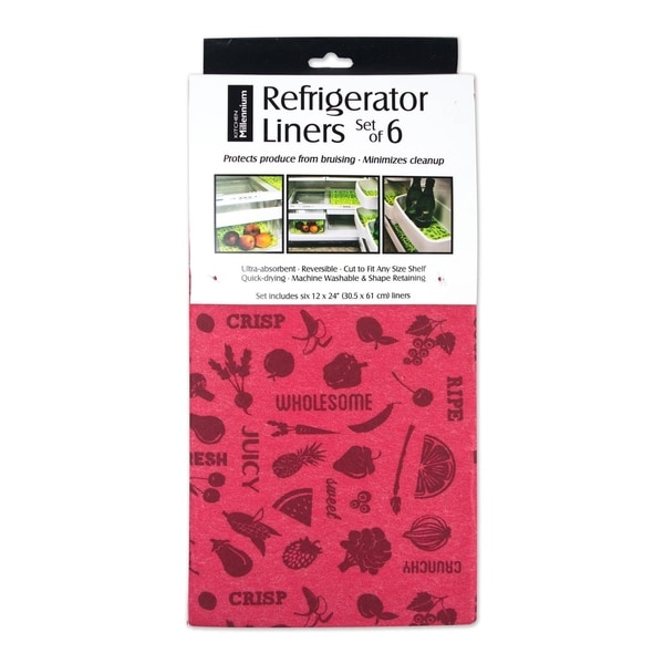 Red Fridge Liners