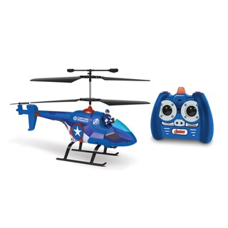 3.5ch Captain America with Figure Marvel IR Helicopter