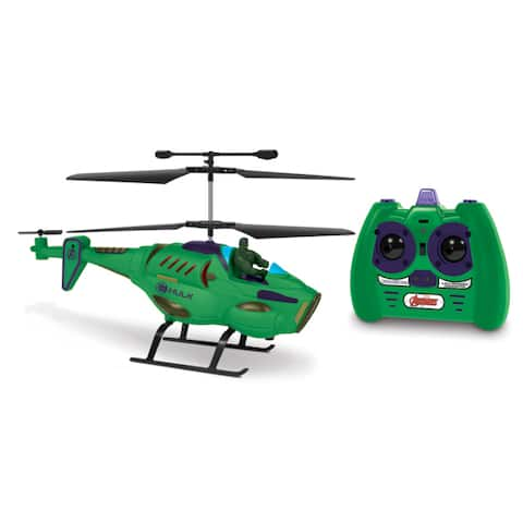 3.5ch HULK with Figure Marvel IR Helicopter