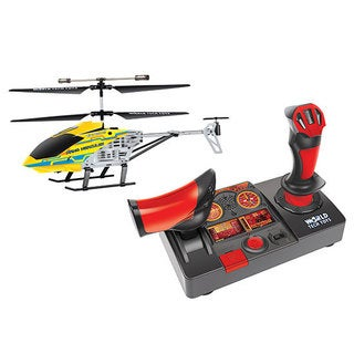 Nano Hercules Unbreakable Helipilot 2.4GHz 3.5CH RC Helicopter - Yellow