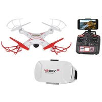 Striker FPV Live View 4.5CH 2.4GHz RC Drone - White