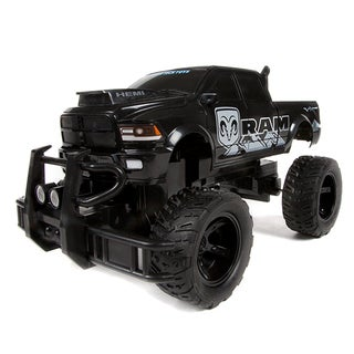 Licensed Dodge Ram 2500 1:14 RC Monster Truck - Black
