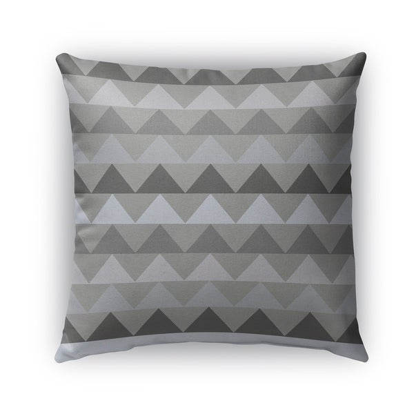 Kavka Designs grey caps outdoor pillow with insert