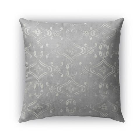 Kavka Designs grey el dorado light grey outdoor pillow with insert