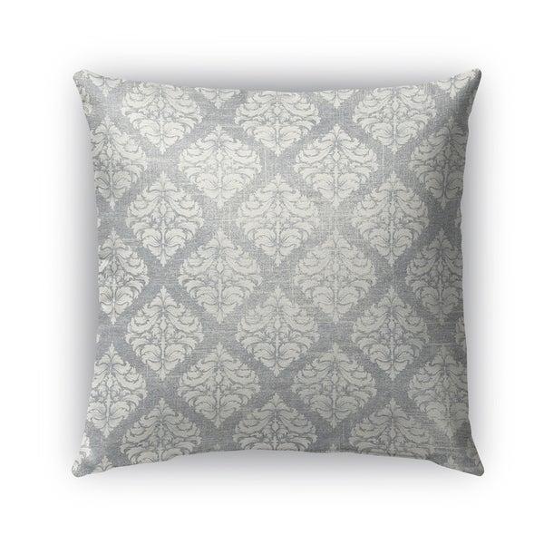 Kavka Designs grey cartagena outdoor pillow with insert